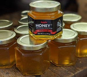 Apple Honey Tasting